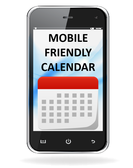 Mobile Friendly Calendar